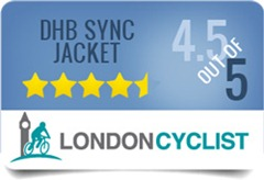 DHB Sync Waterproof Jacket gets 4.5 out of 5 in our review