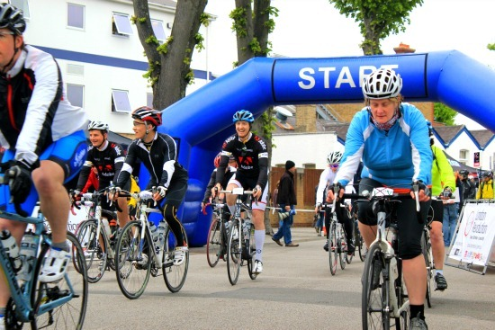 The London Revolution bike riders