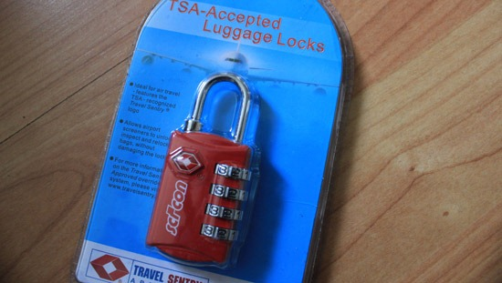 TSA Luggage Lock