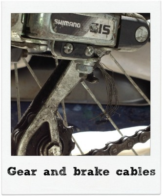 Gear and brake cables