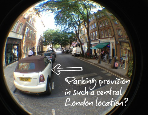 Parking in central London