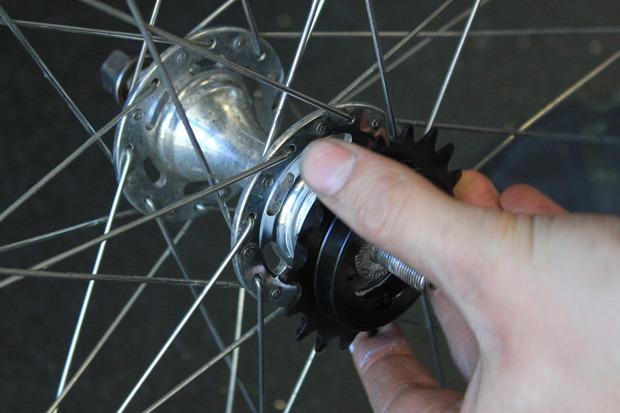 Add freewheel back on