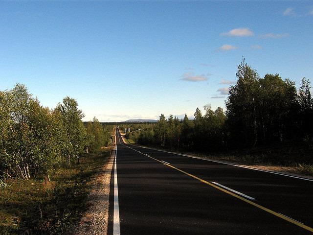 Norway open road