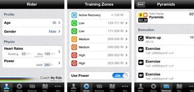 Coach My Ride iPhone app