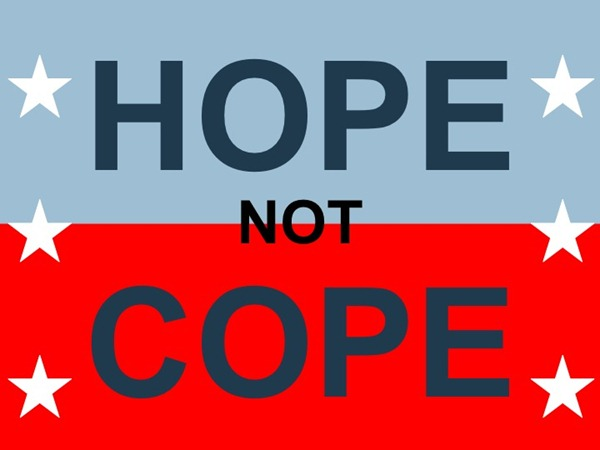 Hope NOT Cope by Mark Ames of IBIKELONDON
