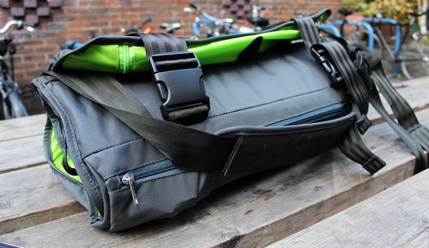 Wingman suit bag folded around