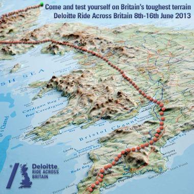 Deloitte Map of Britain
