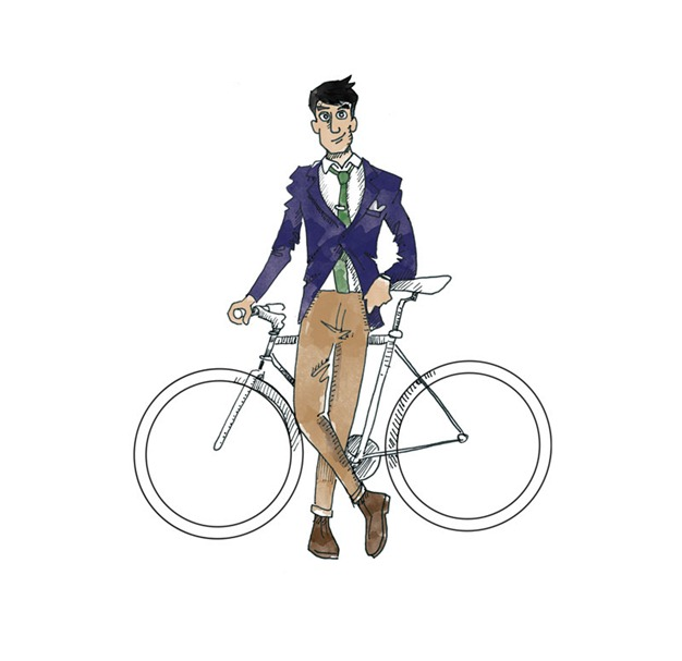 Illustration by the Discerning Cyclist