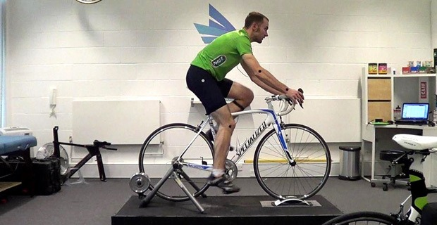 Final position after the bike fitting session