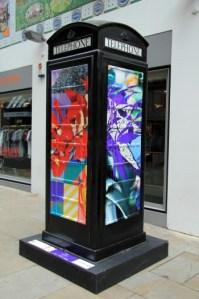 Soho phone box