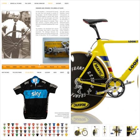 Cyclepedia bike app for iPad