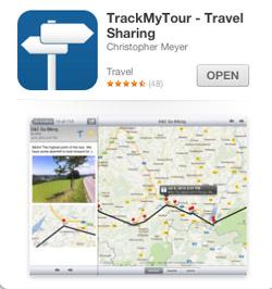 Track my Tour app