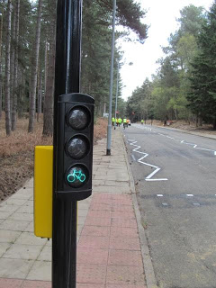 Traffic light for cyclists