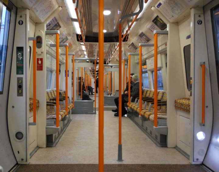 The London Overground's spacious layout - image from Wikipedia