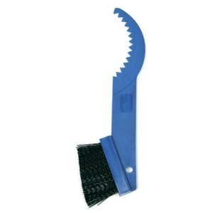 A gear cleaning brush
