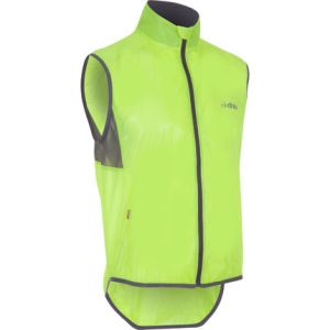 The dhb clear race fluoro gilet