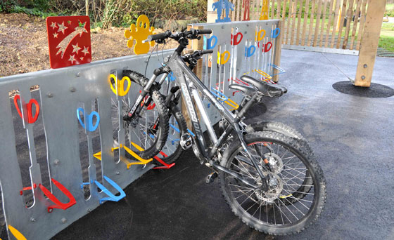 school-bike-rack