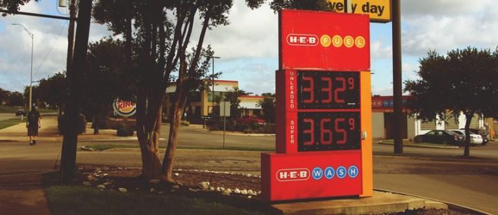 Price of petrol in texas