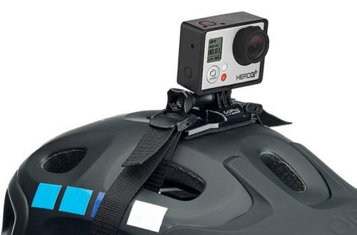 GoPro helmet strap mount