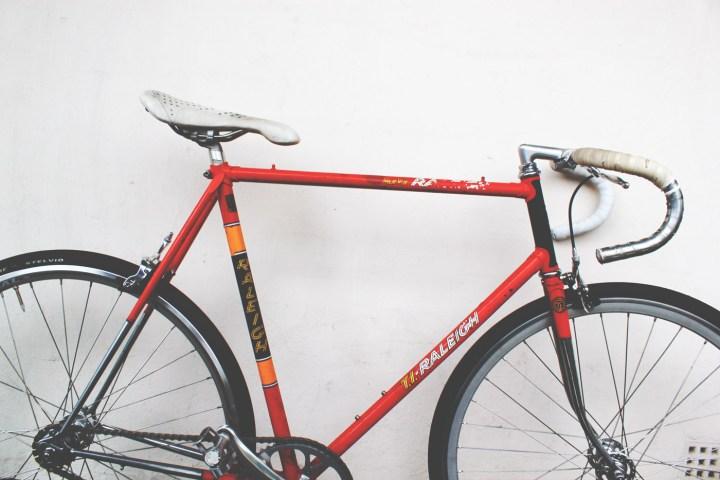 Raleigh Team Ti bike