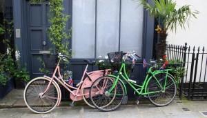 Dutch bikes in London