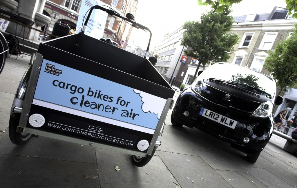 Cargo bike and EV