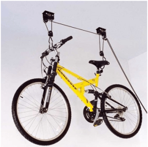 bicycle pulley system