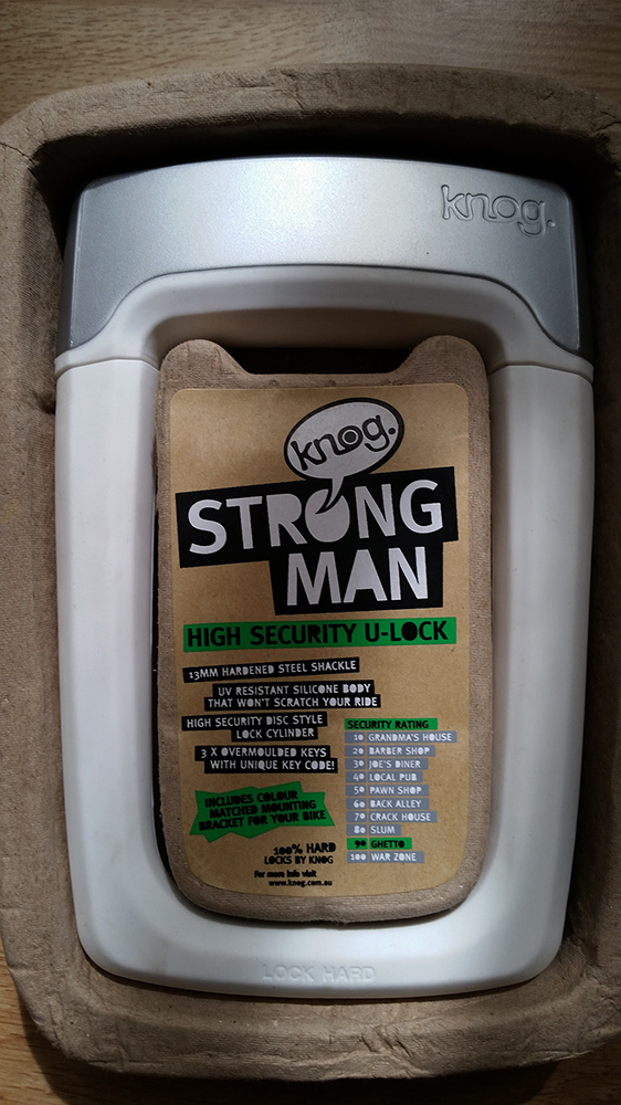 Knog Strongman packaging