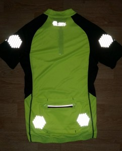 Flashlight jersey reflective