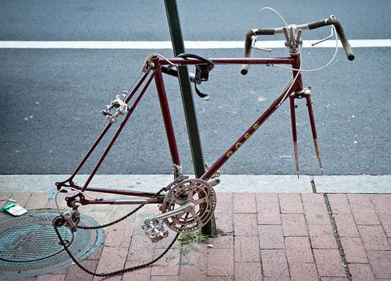 Sad piranha-ed bike