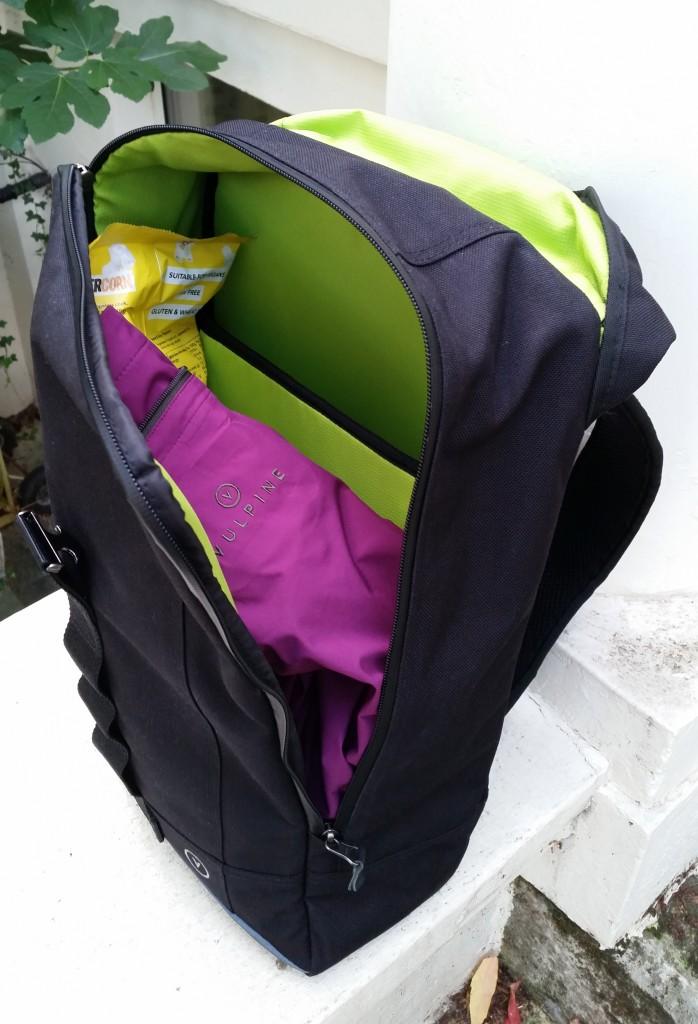 Inside pack