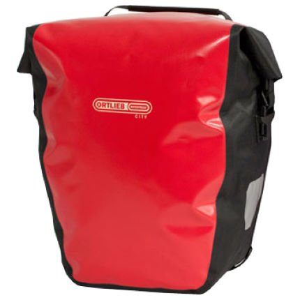 Ortlieb city pannier red