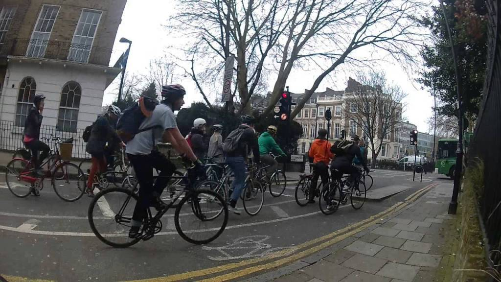 Selfish cyclists