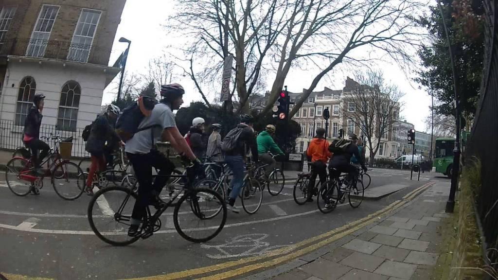 Selfish cyclists