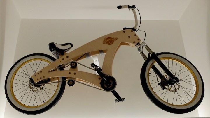 Plywood bike
