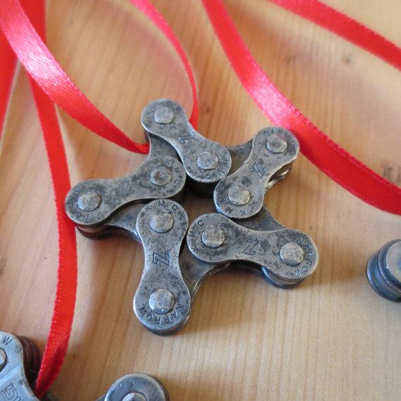 Bicycle chain star
