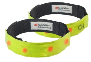 Reflective, light up bands