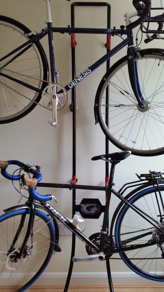 Two bikes on Lean Machine