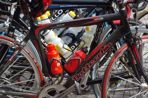 Bikes water bottles - Budget bike tour: 7 ways to do your next adventure on the cheap