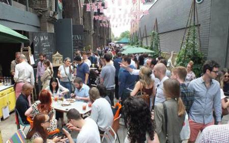 Maltby Street Market (image taken from http://maltbystmarket.com/)
