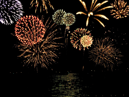 Bonfire Night Fireworks London 2014