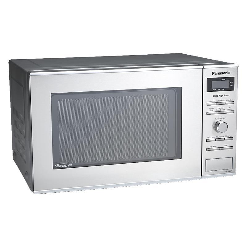 panasonic 0 8 cu ft microwave stainless nnsd382s