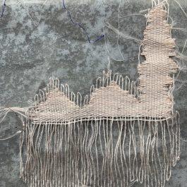 decorative darning stitches