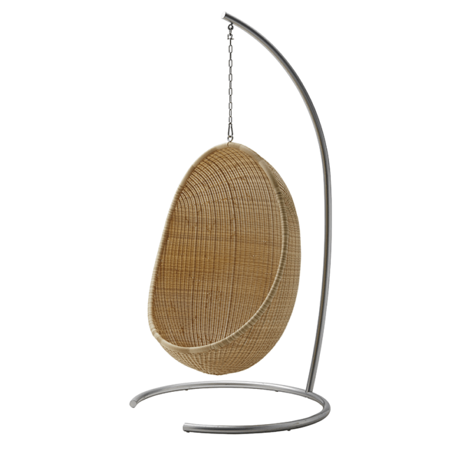Hanging Egg Chair Exterior London Essentials Rattan Sika Furniture