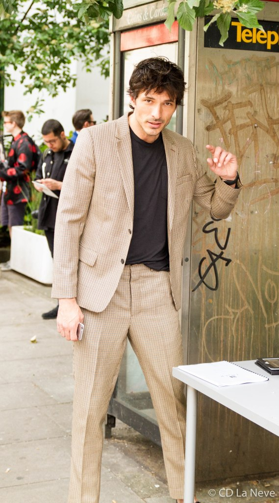 London Collections Men Andres Velencoso