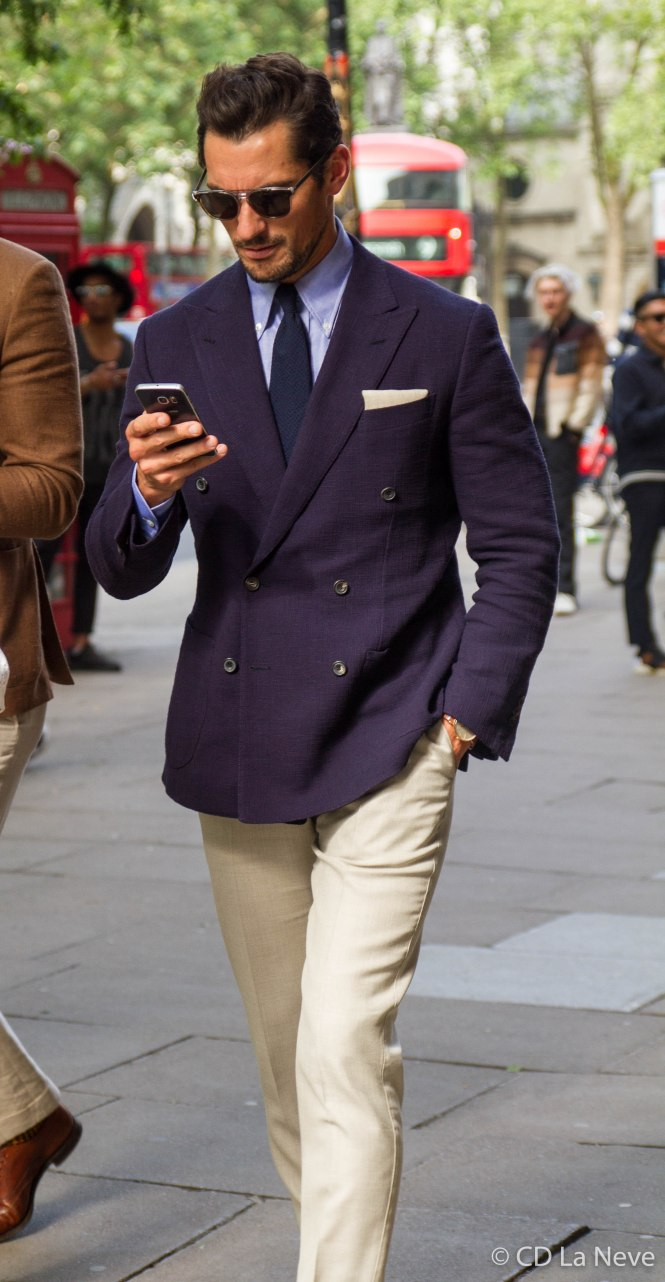 London Collections Men David Gandy