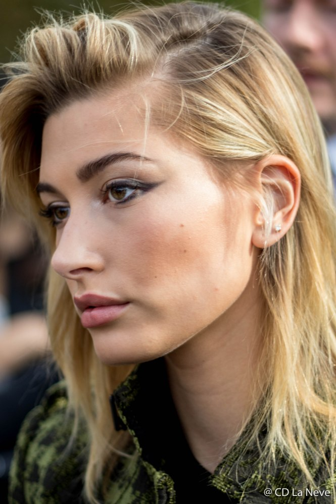 Hailey Baldwin After Elie Saab