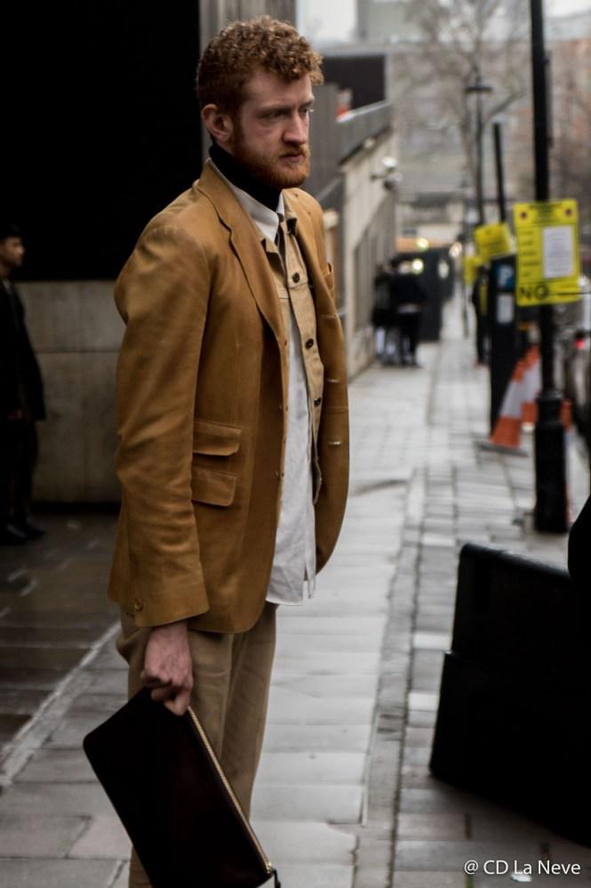 London Fashion Week Street Style SS17