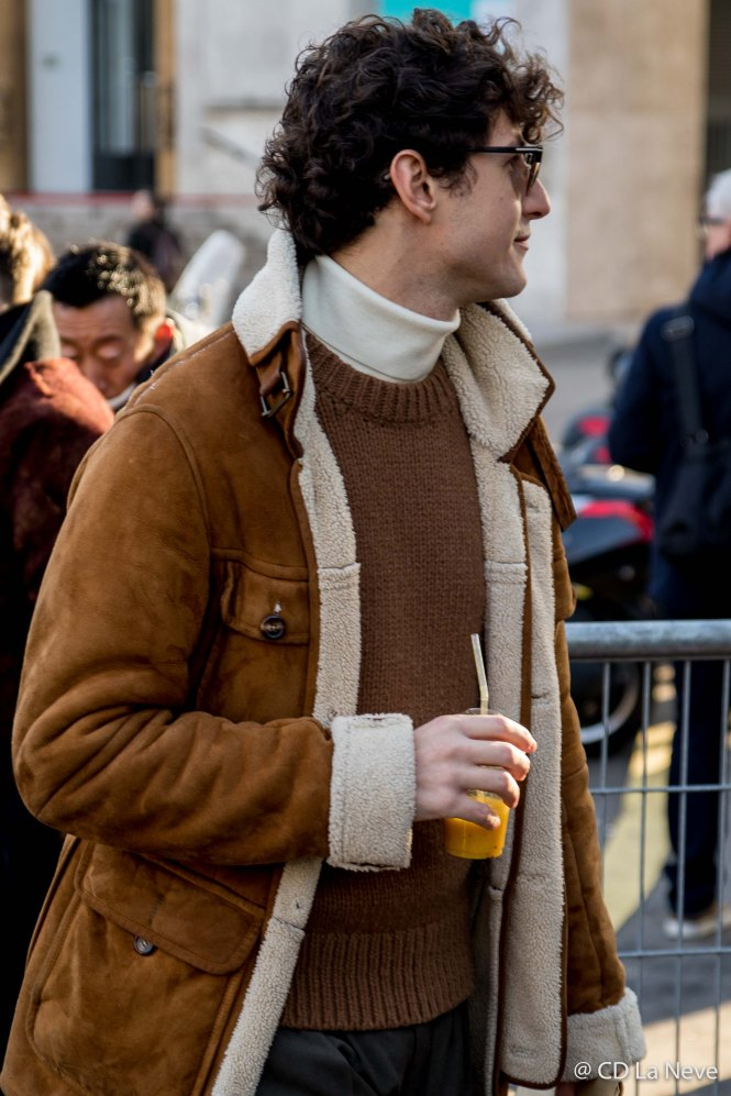 Lanvin Street Style Paris Fashion Week Men's AW17