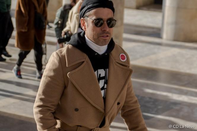 Paris Fashion Week Men's Street Style Lanvin AW17